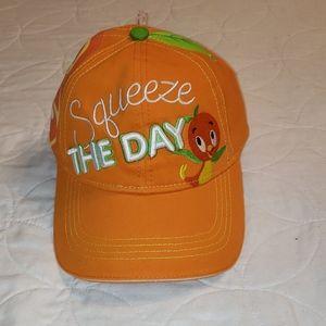 ORANGE BIRD SQUEEZE THE DAY ADULT HAT